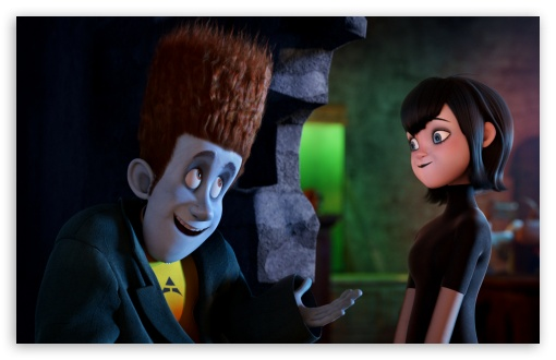 Hotel Transylvania   Johnnystein and Mavis HD wallpaper for Wide 16:10 5:3 Widescreen WHXGA WQXGA WUXGA WXGA WGA ; HD 16:9 High Definition WQHD QWXGA 1080p 900p 720p QHD nHD ; Standard 3:2 Fullscreen DVGA HVGA HQVGA devices ( Apple PowerBook G4 iPhone 4 3G 3GS iPod Touch ) ; Tablet 1:1 ; Mobile 5:3 3:2 16:9 - WGA DVGA HVGA HQVGA devices ( Apple PowerBook G4 iPhone 4 3G 3GS iPod Touch ) WQHD QWXGA 1080p 900p 720p QHD nHD ;