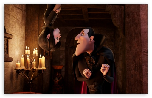 Hotel Transylvania   Mavis and Dracula HD wallpaper for Wide 16:10 5:3 Widescreen WHXGA WQXGA WUXGA WXGA WGA ; HD 16:9 High Definition WQHD QWXGA 1080p 900p 720p QHD nHD ; Standard 4:3 5:4 3:2 Fullscreen UXGA XGA SVGA QSXGA SXGA DVGA HVGA HQVGA devices ( Apple PowerBook G4 iPhone 4 3G 3GS iPod Touch ) ; iPad 1/2/Mini ; Mobile 4:3 5:3 3:2 16:9 5:4 - UXGA XGA SVGA WGA DVGA HVGA HQVGA devices ( Apple PowerBook G4 iPhone 4 3G 3GS iPod Touch ) WQHD QWXGA 1080p 900p 720p QHD nHD QSXGA SXGA ;