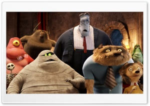 Hotel Transylvania Guests Ultra HD Wallpaper for 4K UHD Widescreen desktop, tablet & smartphone