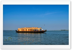 House Boat Kerala HD Wide Wallpaper for Widescreen