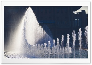 House Of Culture - Fountain HD Wide Wallpaper for Widescreen