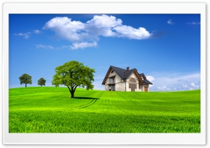 House On The Hill HD Wide Wallpaper for Widescreen