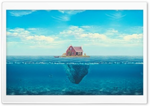 House On The Ocean HD Wide Wallpaper for Widescreen