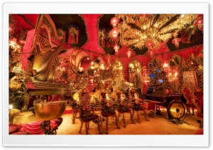 House On The Rock, The Red Room HD Wide Wallpaper for Widescreen