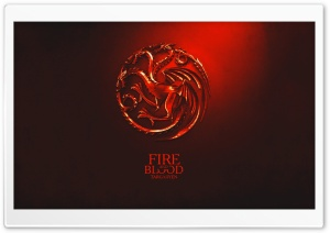 House Targaryen HD Wide Wallpaper for Widescreen