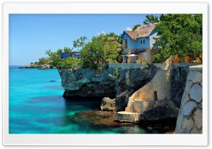 Houses Negril Jamaica HD Wide Wallpaper for Widescreen