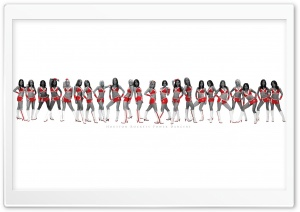 Houston Rockets Power Dancers HD Wide Wallpaper for 4K UHD Widescreen desktop & smartphone