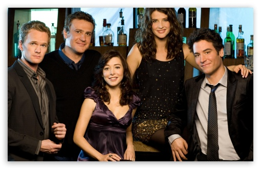How I Met Your Mother HD wallpaper for Wide 16:10 Widescreen WHXGA WQXGA WUXGA WXGA ; Standard 4:3 Fullscreen UXGA XGA SVGA ; iPad 1/2/Mini ; Mobile 4:3 - UXGA XGA SVGA ;