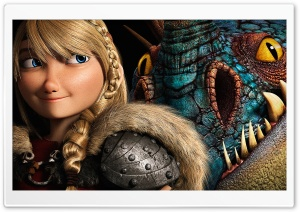 How To Train Your Dragon 2 Astrid HD Wide Wallpaper for 4K UHD Widescreen desktop & smartphone