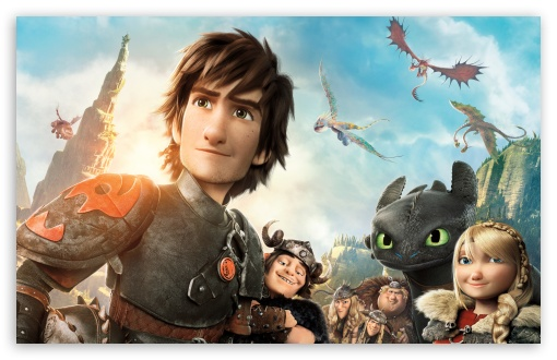 How To Train Your Dragon 2 Characters 4K HD Desktop