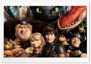 How to Train Your Dragon 2 Dragons HD Wide Wallpaper for 4K UHD Widescreen desktop & smartphone