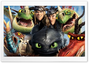 How to Train Your Dragon 2 Dragons Ultra HD Wallpaper for 4K UHD Widescreen desktop, tablet & smartphone