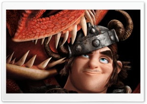 How To Train Your Dragon 2 Snotlout Jorgenson and dragon Hookfang HD Wide Wallpaper for Widescreen