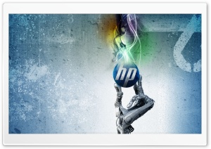 HP HD Wide Wallpaper for Widescreen