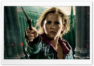 HP7 Part 2 Hermione HD Wide Wallpaper for Widescreen