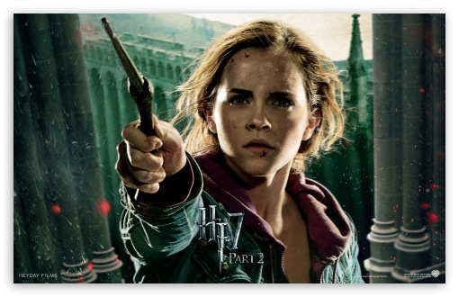 HP7 Part 2 Hermione HD wallpaper for Wide 16:10 5:3 Widescreen WHXGA WQXGA WUXGA WXGA WGA ; Mobile 5:3 - WGA ;