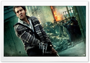HP7 Part 2 Neville HD Wide Wallpaper for Widescreen