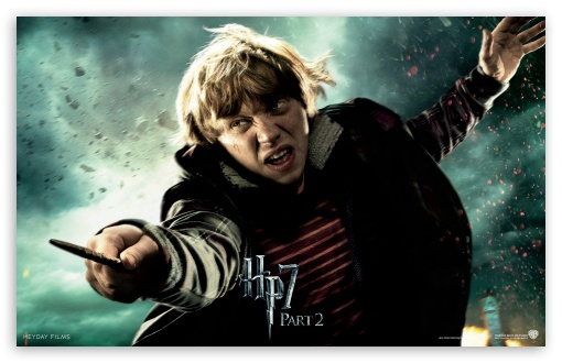 HP7 Part 2 Ron HD wallpaper for Wide 16:10 5:3 Widescreen WHXGA WQXGA WUXGA WXGA WGA ; Mobile 5:3 - WGA ;