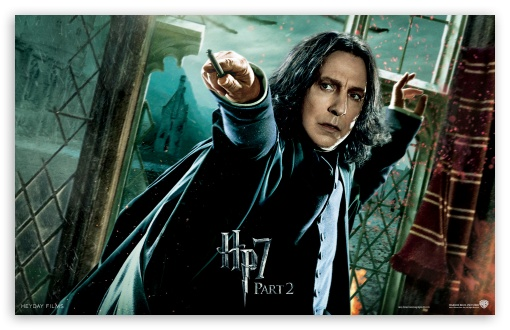 HP7 Part 2 Snape HD wallpaper for Wide 16:10 5:3 Widescreen WHXGA WQXGA WUXGA WXGA WGA ; Mobile 5:3 - WGA ;
