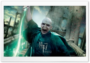 HP7 Part 2 Voldemort HD Wide Wallpaper for Widescreen