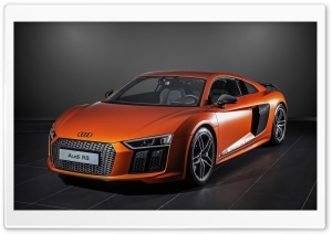 HplusB Design Audi R8 V10 2015 HD Wide Wallpaper for Widescreen