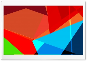 HTC Blur Rainbow HD Wide Wallpaper for Widescreen