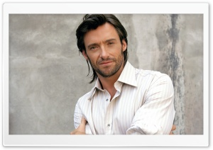 Hugh Jackman HD Wide Wallpaper for Widescreen