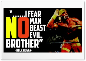 Hulk Hogan 4K HD Wide Wallpaper for Widescreen