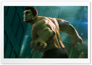 Hulk In The Avengers HD Wide Wallpaper for 4K UHD Widescreen desktop & smartphone