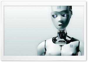 Human Robot II Ultra HD Wallpaper for 4K UHD Widescreen desktop, tablet & smartphone