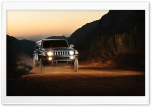 Hummer H3 2009 HD Wide Wallpaper for Widescreen