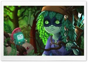 Huntress Wizzard by Izabela Zyskowska Ultra HD Wallpaper for 4K UHD Widescreen desktop, tablet & smartphone