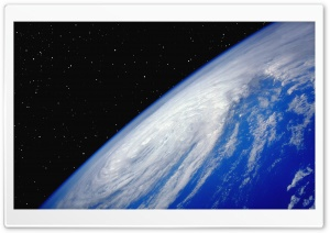 Hurricane From Space HD Wide Wallpaper for Widescreen