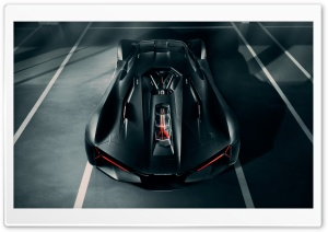 Hypercar Lamborghini Terzo Millennio Electric Supercar Ultra HD Wallpaper for 4K UHD Widescreen desktop, tablet & smartphone