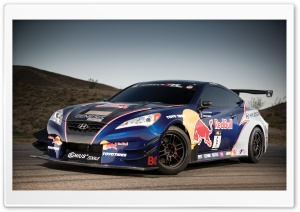 Hyundai Genesis Red Bull Car HD Wide Wallpaper for 4K UHD Widescreen desktop & smartphone