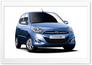Hyundai i10 HD Wide Wallpaper for Widescreen