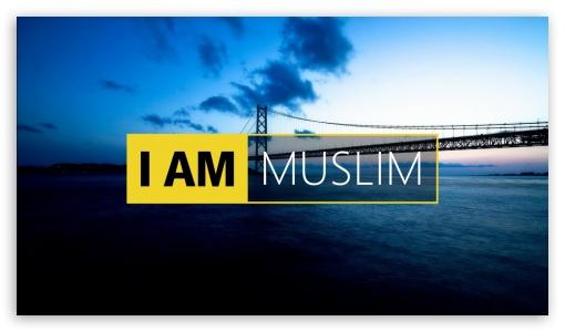 I Am Muslim Ultra Hd Desktop Background Wallpaper For 4k Uhd Tv