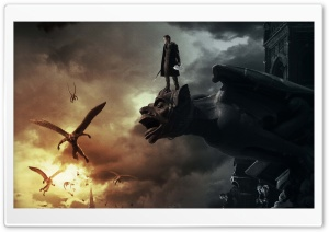I Frankenstein 2014 HD Wide Wallpaper for 4K UHD Widescreen desktop & smartphone
