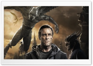 I FRANKENSTEIN Aaron Eckhart HD Wide Wallpaper for Widescreen