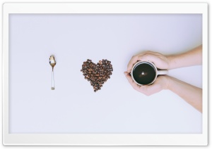 I Love Coffee HD Wide Wallpaper for 4K UHD Widescreen desktop & smartphone