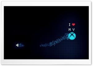 I Love My Xbox HD Wide Wallpaper for 4K UHD Widescreen desktop & smartphone