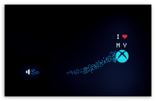 I Love My Xbox UltraHD Wallpaper for Wide 16:10 Widescreen WHXGA WQXGA WUXGA WXGA ;