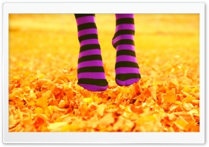 I Love October HD Wide Wallpaper for Widescreen