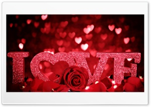 I Love U1 HD Wide Wallpaper for Widescreen