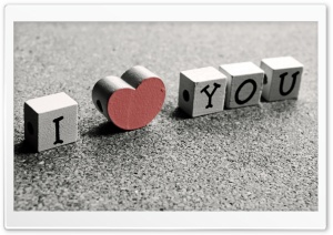 I Love You HD Wide Wallpaper for Widescreen