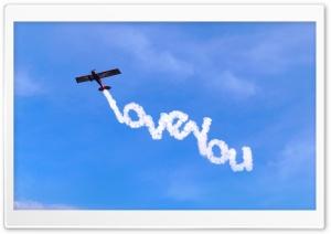 I Love You Written In The Sky Ultra HD Wallpaper for 4K UHD Widescreen desktop, tablet & smartphone