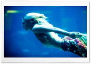 I Think I Just Saw A Mermaid HD Wide Wallpaper for Widescreen