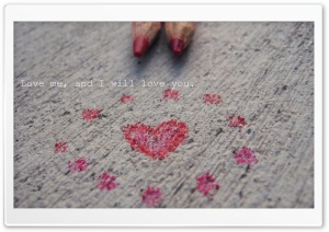 I Will Love You HD Wide Wallpaper for Widescreen