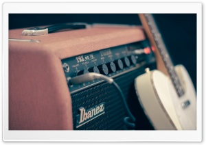 Ibanez Guitar Amplifier HD Wide Wallpaper for 4K UHD Widescreen desktop & smartphone