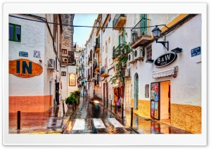Ibiza Town HD Wide Wallpaper for Widescreen